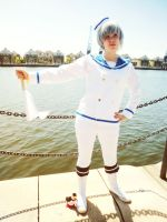 Hetalia - Sailor Iceland by MsKitty77