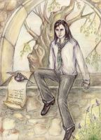 Young Snape by Allada