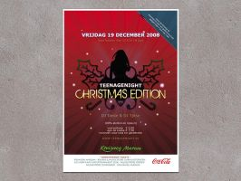 Christmas Poster and Flyer by demarkies