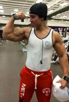 Bodybuilder Muscle Morph 2 by theology132