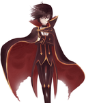 Lelouch - Art trade by Rainbow-Shit