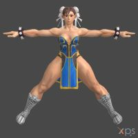 ChunLi - MK style re-upload by DragonLord720