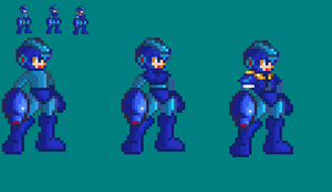 Model  M - MM Megaman ZX Style by KyujiX