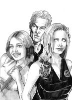 Buffy the vampire slayer by Stealth-comics
