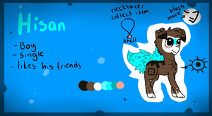 Hisan the Finnedyr reference by Punk-Mutt