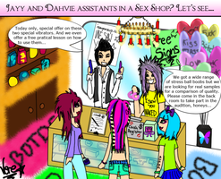 What if...BOTDF had a SHOP by IntoxicaVampire