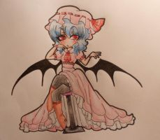 Remilia coloured by anakichi