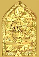 stained glass link by noa-2003