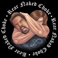 Rear Naked Choke Band Logo by ChrisSummersArts