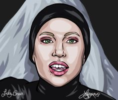 LADY GAGA - APPLAUSE IN COLOUR by bratchny