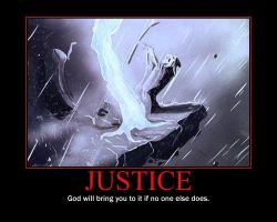 Justice Motivational Poster by QuantumInnovator