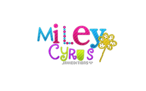Miley Cyrus Texto Png by JaviOllg