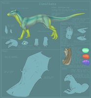 Dimidians Species ref Sheet by goosechimera