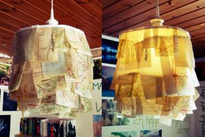 Street Map Lamp by ajnataya
