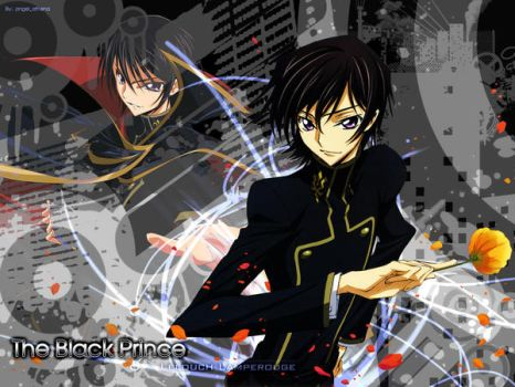 Lelouch .:The Black Prince:. by angel-athena