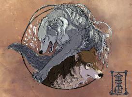 A Story of Two Wolves - Design by Valhalrion