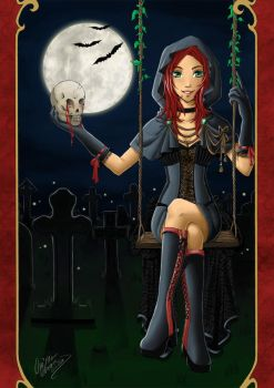 GothicGirl by ChristAll