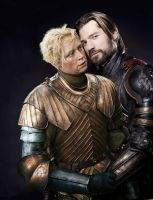 Game of thrones- Jaime and Brienne by Sabrina992