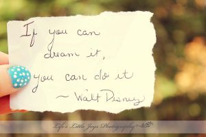 If you can dream it.... by LLJPhotography
