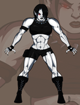 Solira Bloodfist by BloodyMess-VaoT