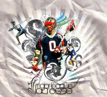 Major League Lacrosse by morphinecase