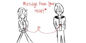 Message From Your Heart by HazelLevesque24