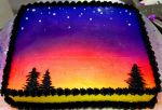 Sunset Cake by C-S-Marcy
