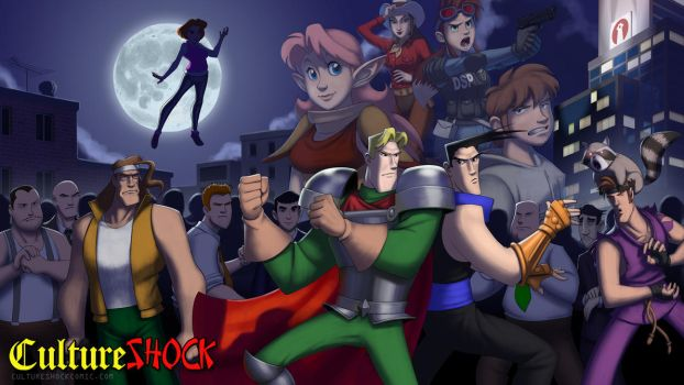 Culture Shock Wallpaper - Standoff by thelaserhawk