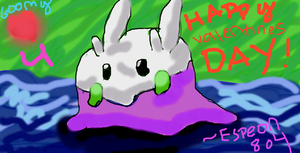 Goomy Loves you! Happy V Day! by Espeon804