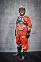 X-wing Pilot by RC Concepcion by locomotiva