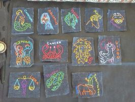 Zodiacpatches by TiffanyLuckyCharms