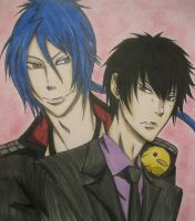Mukurou and Hibari for Hizukyo by cloudPOP