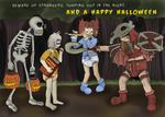 Be Wary On Halloween by AbeSedecim
