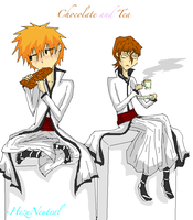 Chocolate and Tea by HezuNeutral