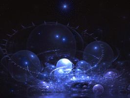 Blue Galaxy by SARETTA1