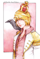 :Gift: Prince Raven by Doria-Plume