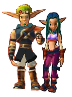 Jak and Keira Hagai Render by 9029561