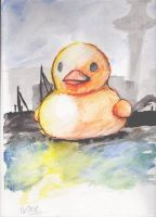 Rubber Ducky by coffeeatthecafe