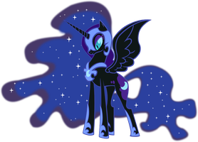 Nightmare moon by Vector-Brony