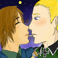 APH - Italy and the German by beastofbloodgaara