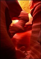 Free Forms - Antelope Canyon by kimjew