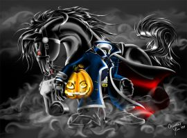headless horseman by LilDevilMomoko
