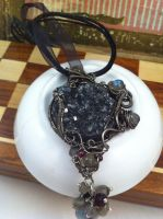 Dark Meteor Pendant by tanyquil