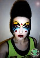 Club Kid Makeup by Face-Invaders