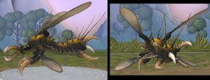 Spore: Skurgefly by DinoHunter2