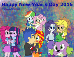 Happy New Year's Day 2015 by Agufanatic98