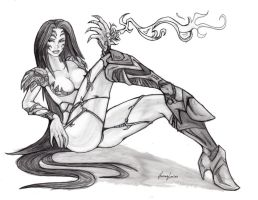 Witchblade B by HamzaLee
