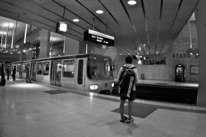 Lyon - Subway II by John-Furie-Zacharias