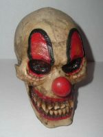 Clown_Skull_02 by warped-stock