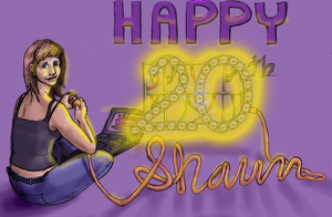 Shaun's B-day Card by Mothboss